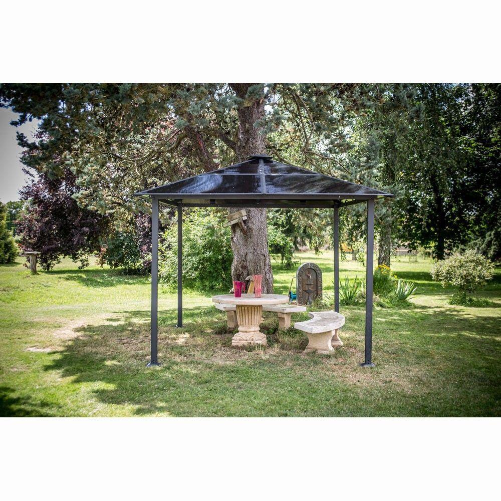 Pergola Jardin Gifi | Vaste Tonnelle 44 Gifi Nice Tonnelle De Niche