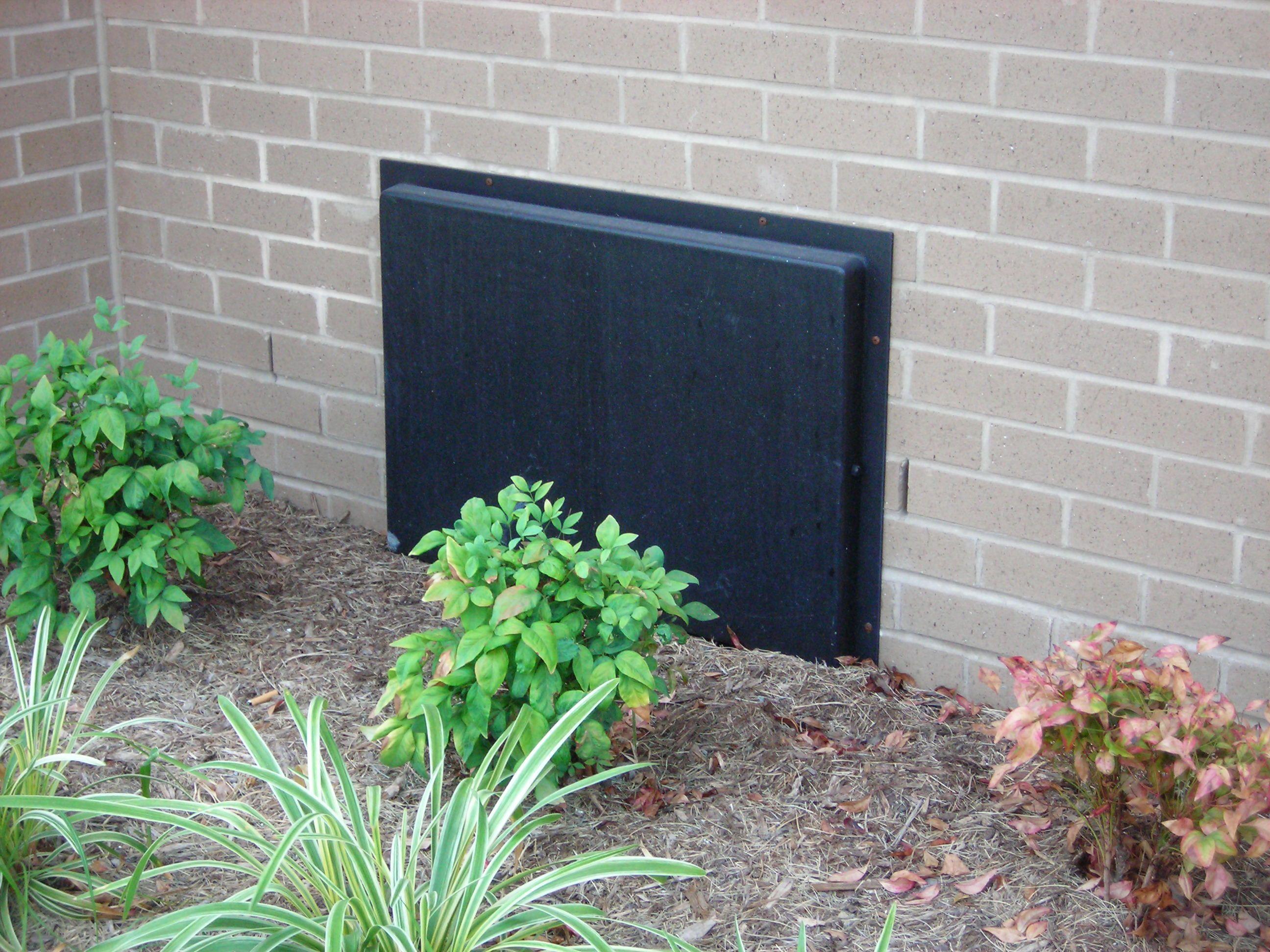 Ordinaire Installed 16x32 Crawl Space Door