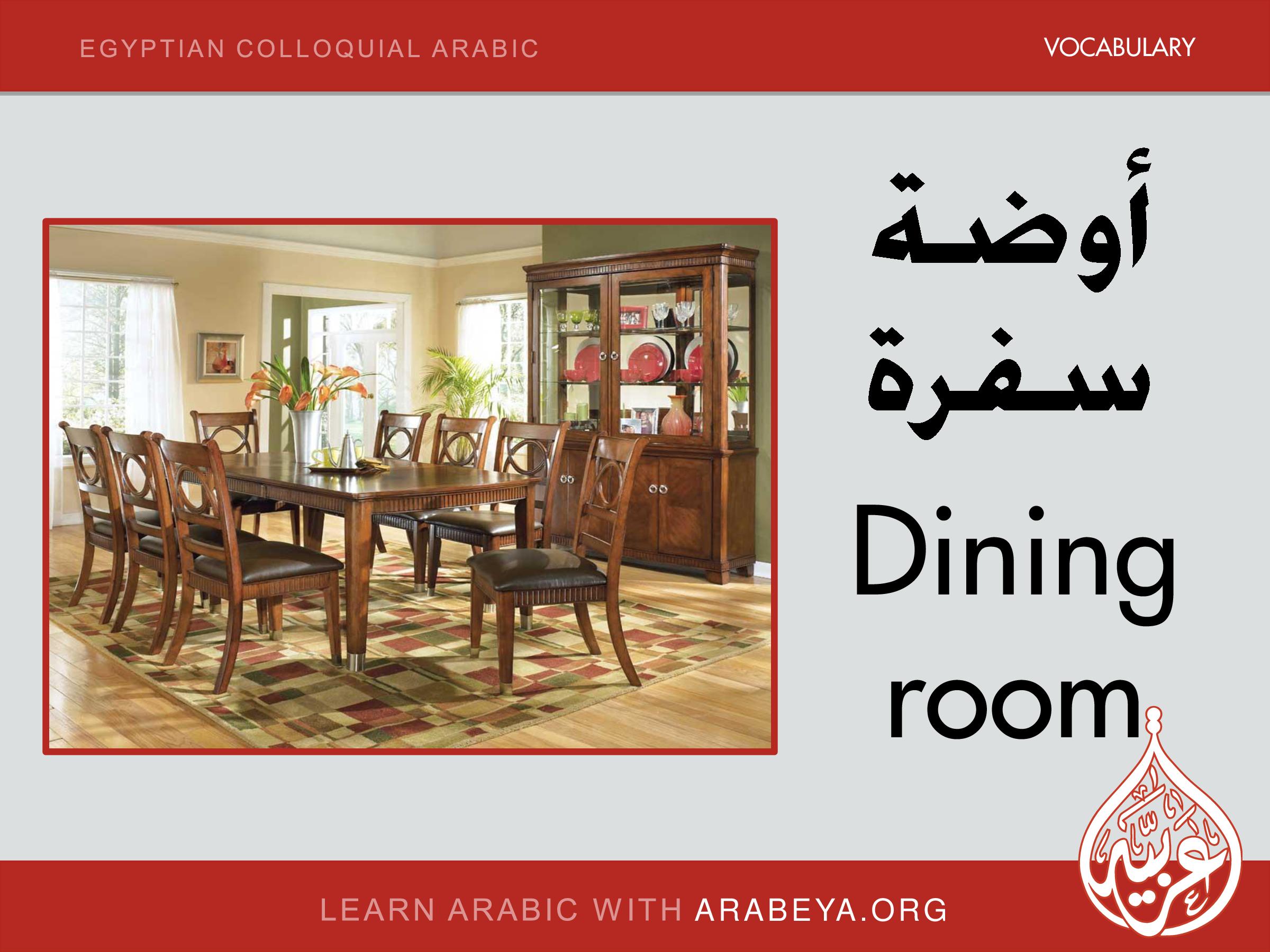 Dining Room Vocabulary The Tennsat Creative