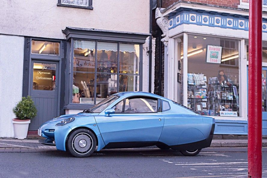 Riversimple launches a 250 mpg hydrogenpowered car (มีรูปภาพ)