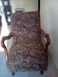 Platform Rocking Chair Vintage Google