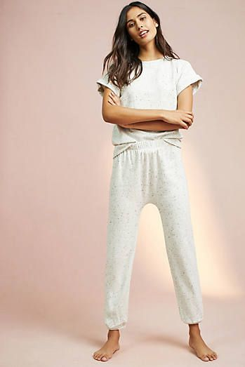 1cf798920f Maison Du Soir Terry Sleep Pants Fleece Cardigan, Matching Pajamas, Sleep  Pants, Playing