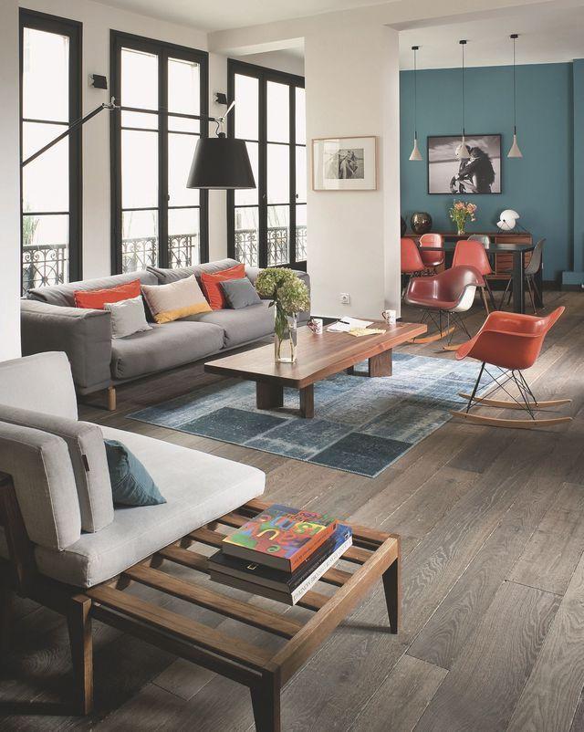 Décoration Salon Appartement appartement paris déco et design : 12 photos inspirantes | salons