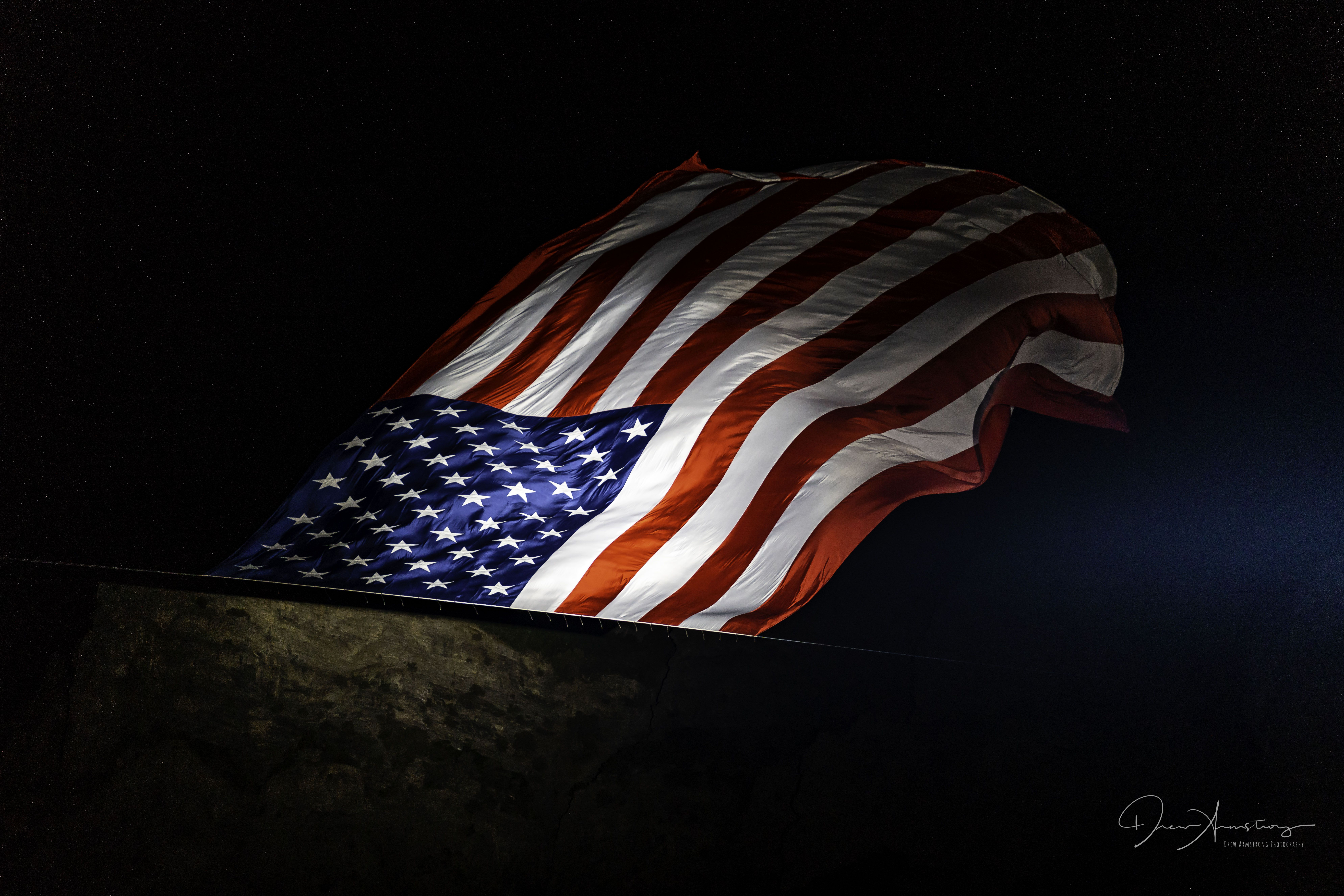 This Flag Is Flown Every July 4th In Pleasant Grove Utah It Is The Largest Us Flag Ever Flown It Weighs 450 Pounds And Is 1 4th Flag Us Flag Pleasant Grove