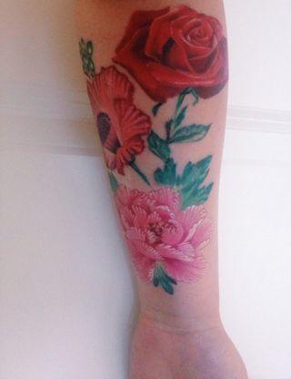 31333c7b8b262 Tattoologist on Bloglovin | Body Art | Tattoos, Body art, Watercolor ...