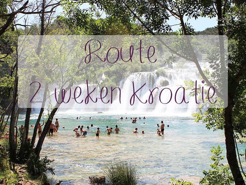 Onze honeymoon gaat naar Kroatië. In dit artikel lees je een route 2 weken Kroatië. Van Split via onder andere Zadar naar Zagreb.