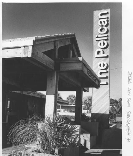 Front Entrance of The Pelican Restaurant :: Clearwater Public Library System Online Archive
