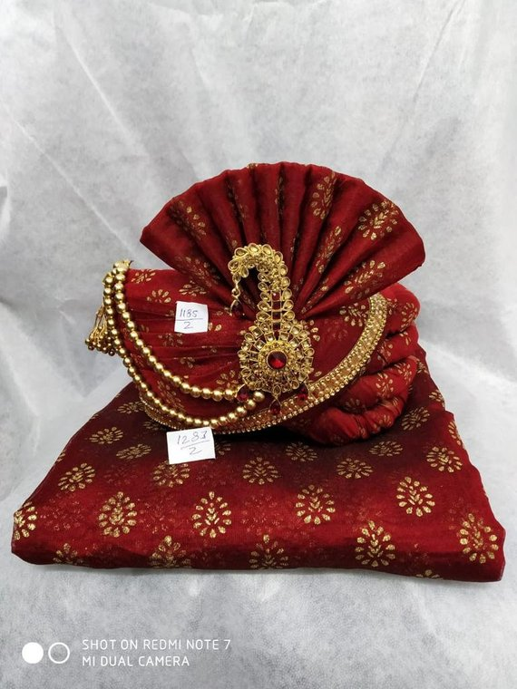 PC638COP Best Quality Copper Brown Turban 06VY17