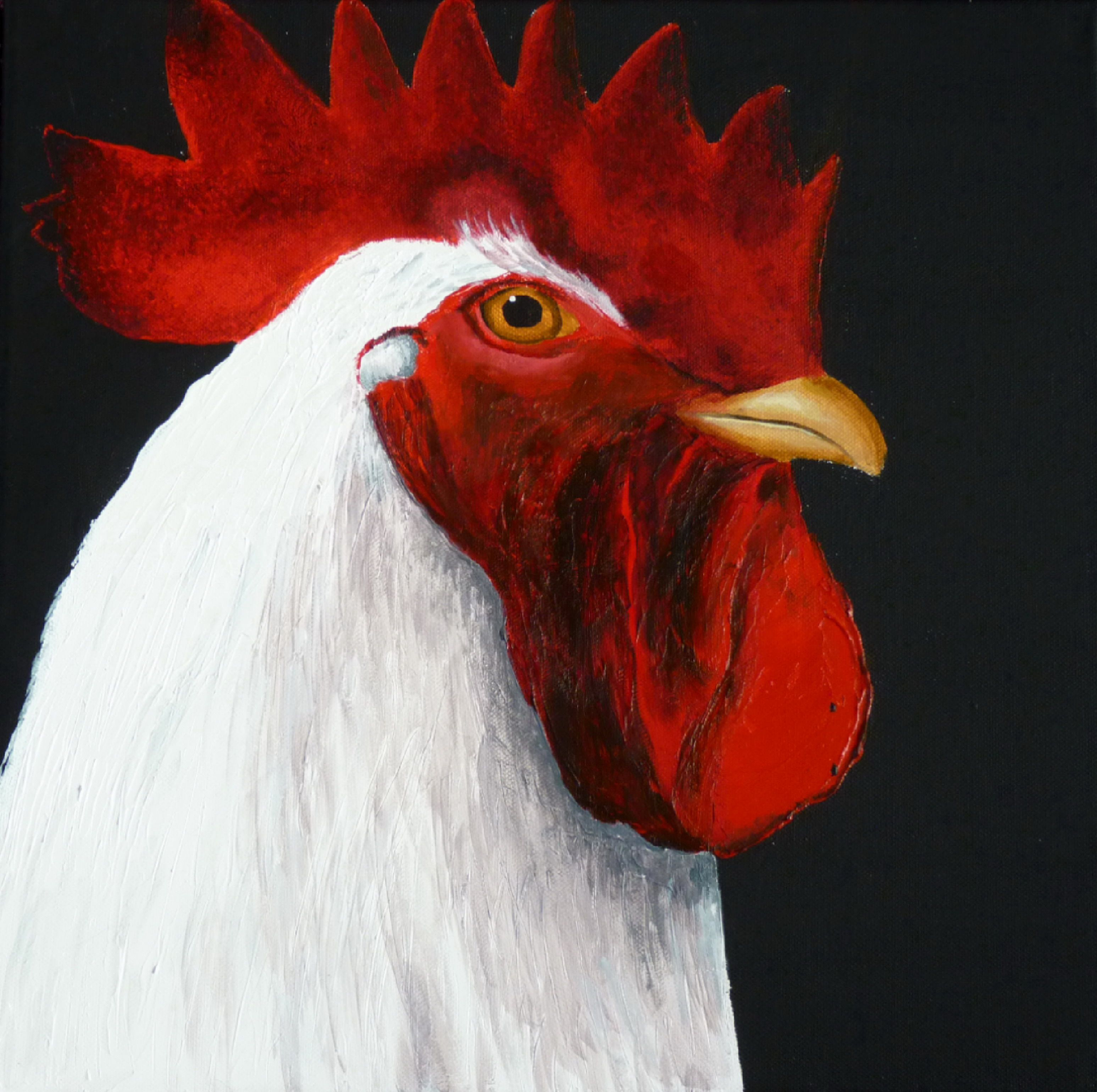My rooster painting!
