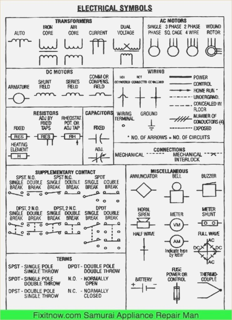 Diagrams Wiring Diagram Electrical Diagram Symbols