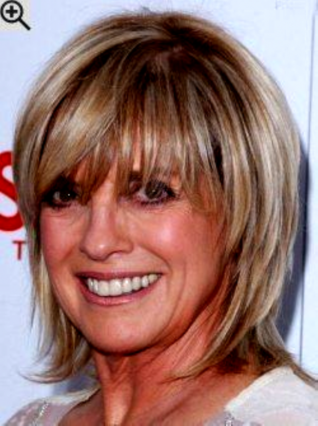 Hairstyles With Bangs For Fine Hair Over 50 Older Women 55 Best Ideas In 2020 Medium Hair Styles Medium Length Hair Styles Short Layered Bob Haircuts