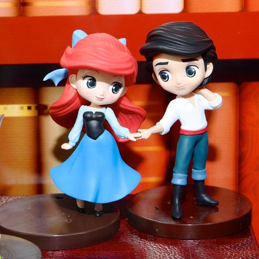 Jolie Petite Figurine Pocket Figurines And Dolls Ariel