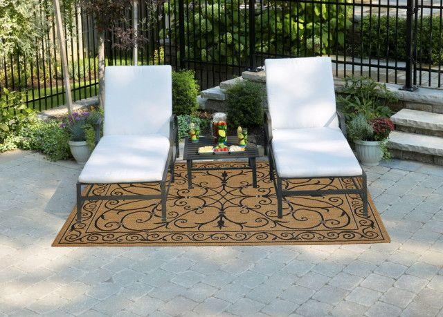 Outdoor Patio Rugs Home Depot X