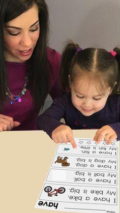 Kindergarten Sight Word Sentences & Games: Guided Reading Levels A & B {Digital}