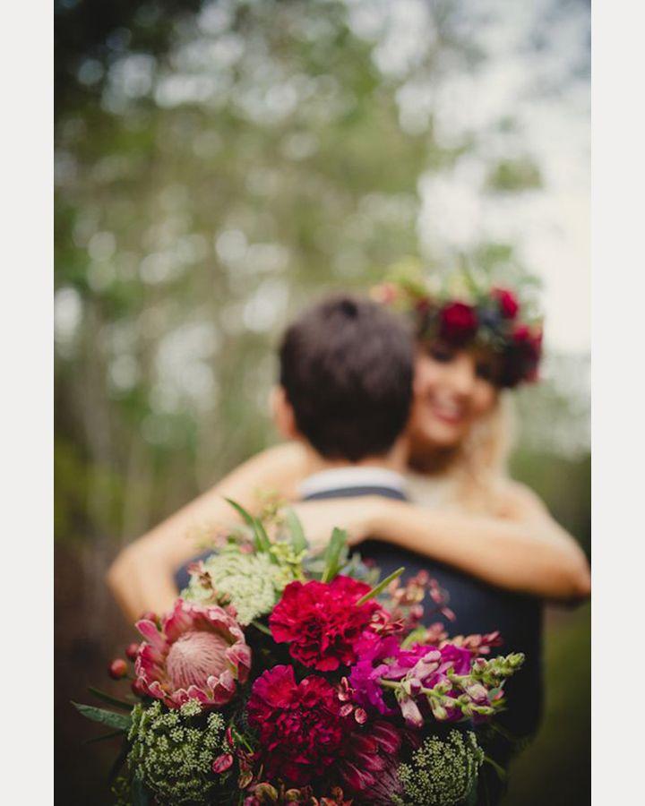 Unique Bridal Bouquet Photography