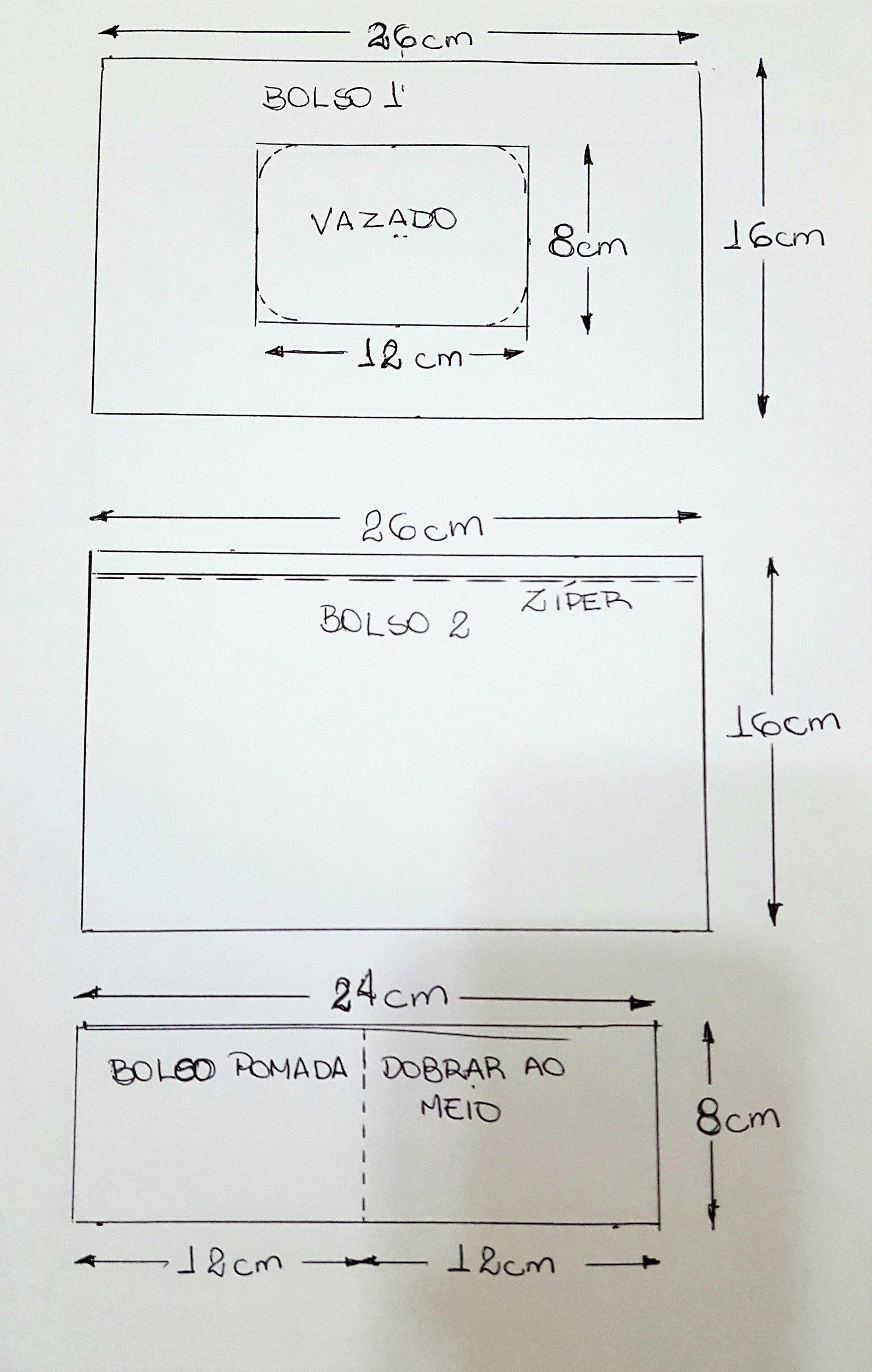Aparador Hemnes Ikea Segunda Mano ~ Acompanhe o passoà passo de como fazer um porta kit higiene do beb u00ea de tecido artesanato