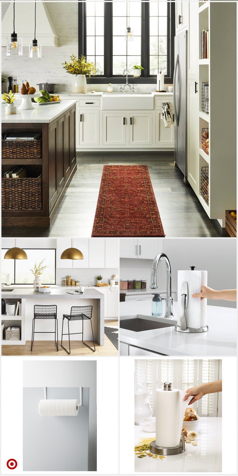 Shop Target For Paper Towel Holder You Will Love At Great Low Prices Free Shipping On Orders Of Home Decor Kitchen Kitchen Remodel Small Home Kitchens