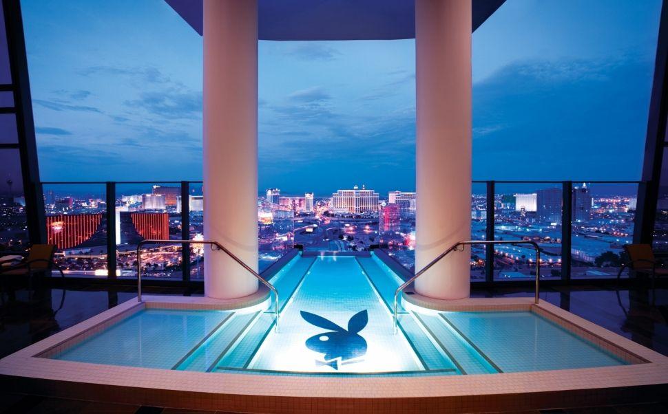 Hotel Palms Casino Resort Hugh Hefner Sky Villa 3 970xh Hotel Piscine