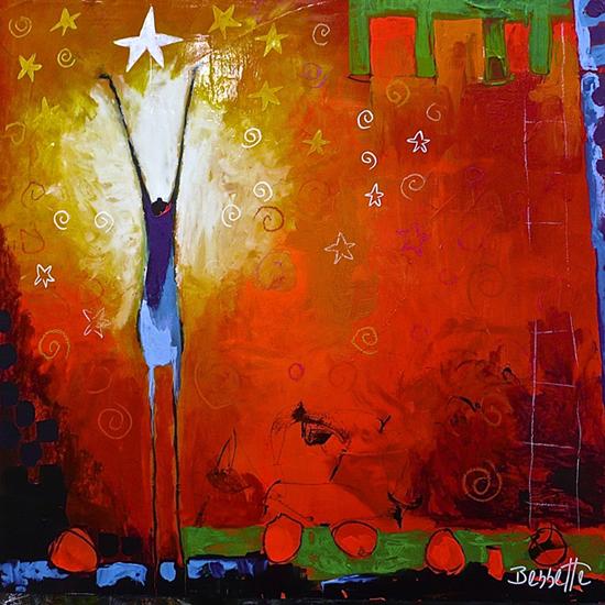 jeanne bessette artist abstrakte malerei kunst kandinsky bilder acryl abstrakt