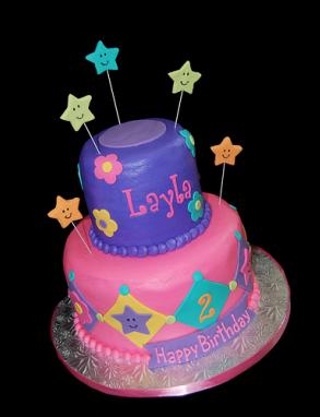 صور اروع قالب لعيد ميلاد البنات 2nd Birthday Party For Girl Girl Cakes 2 Birthday Cake
