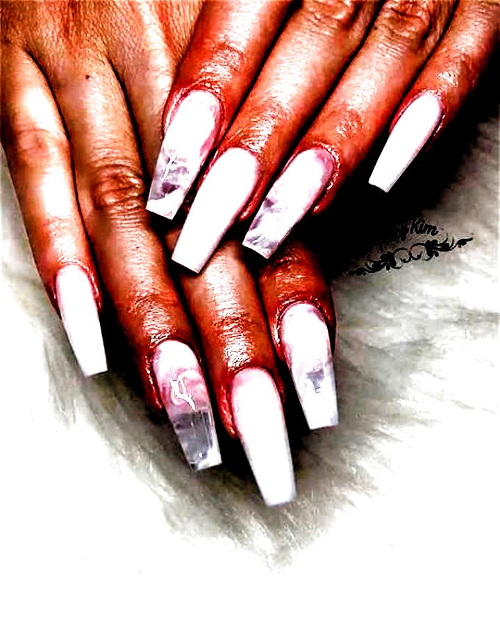 nail acrylic coffin white #nail #acrylic #coffin #white / nail acrylic coffin & nail acrylic coffin long & nail acrylic