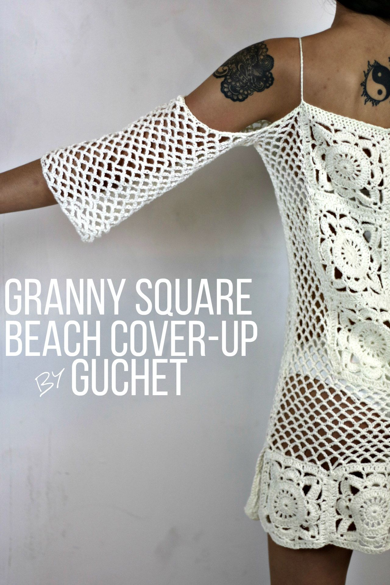 Crochet Swimsuit Cover pattern by Gu\'Chet | Playa, Ropa de playa y ...