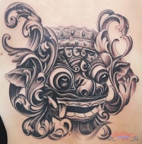 Indonesian Tattoo Design Ide Tato Desain Tato Tato Bunga