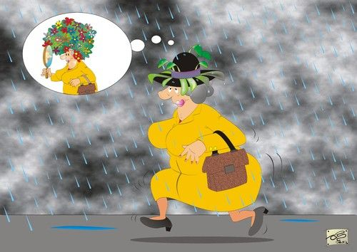 Rainy Day Quotes Funny