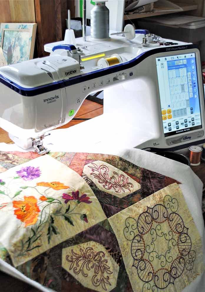 2 in 1 – embroidering and quilting at once with THE Dream ...