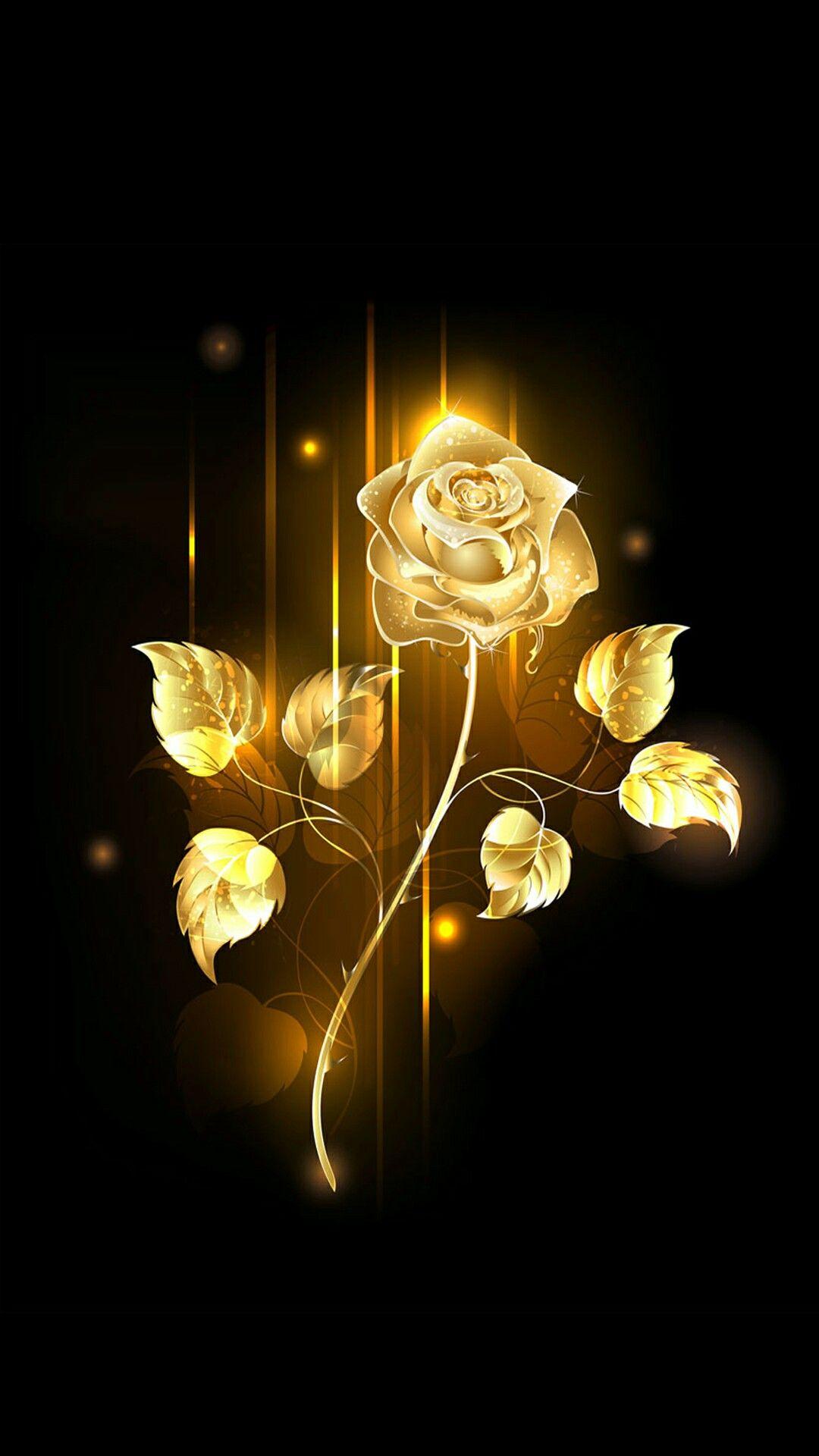 Golden Rose Gold Wallpaper Background Gold Wallpaper Rose Gold Wallpaper