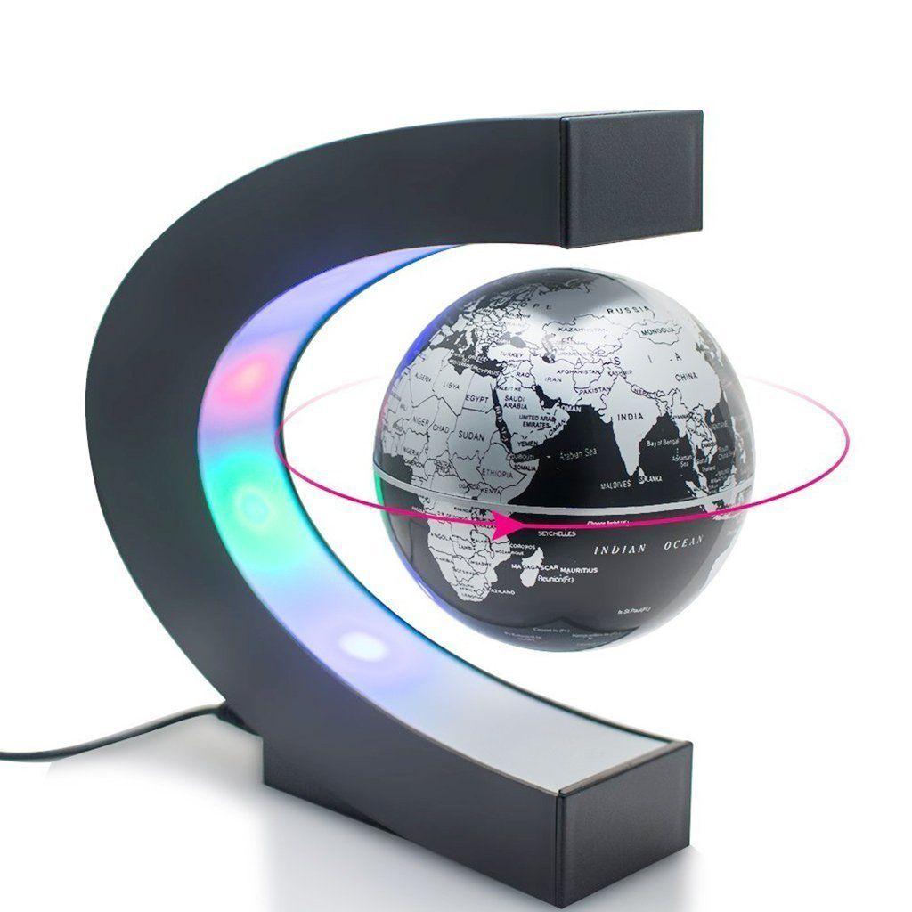 Amazing Floating Globe Lamp Floating Globe Magnetic Levitation Levitation