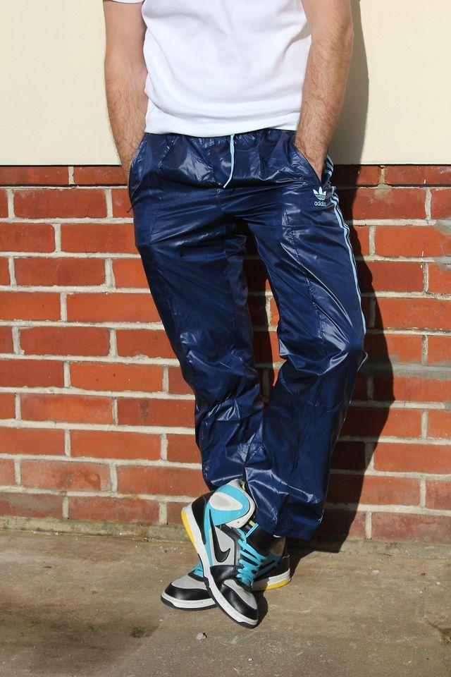 Adidas Cal Surf Shiny Trackie Bottoms Pants Nike 6 0