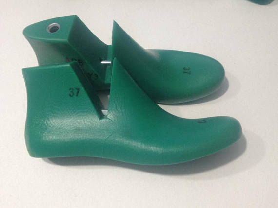 Photo of Items similar to Plastic shoe lasts for felt shoes and slippers for women on Etsy