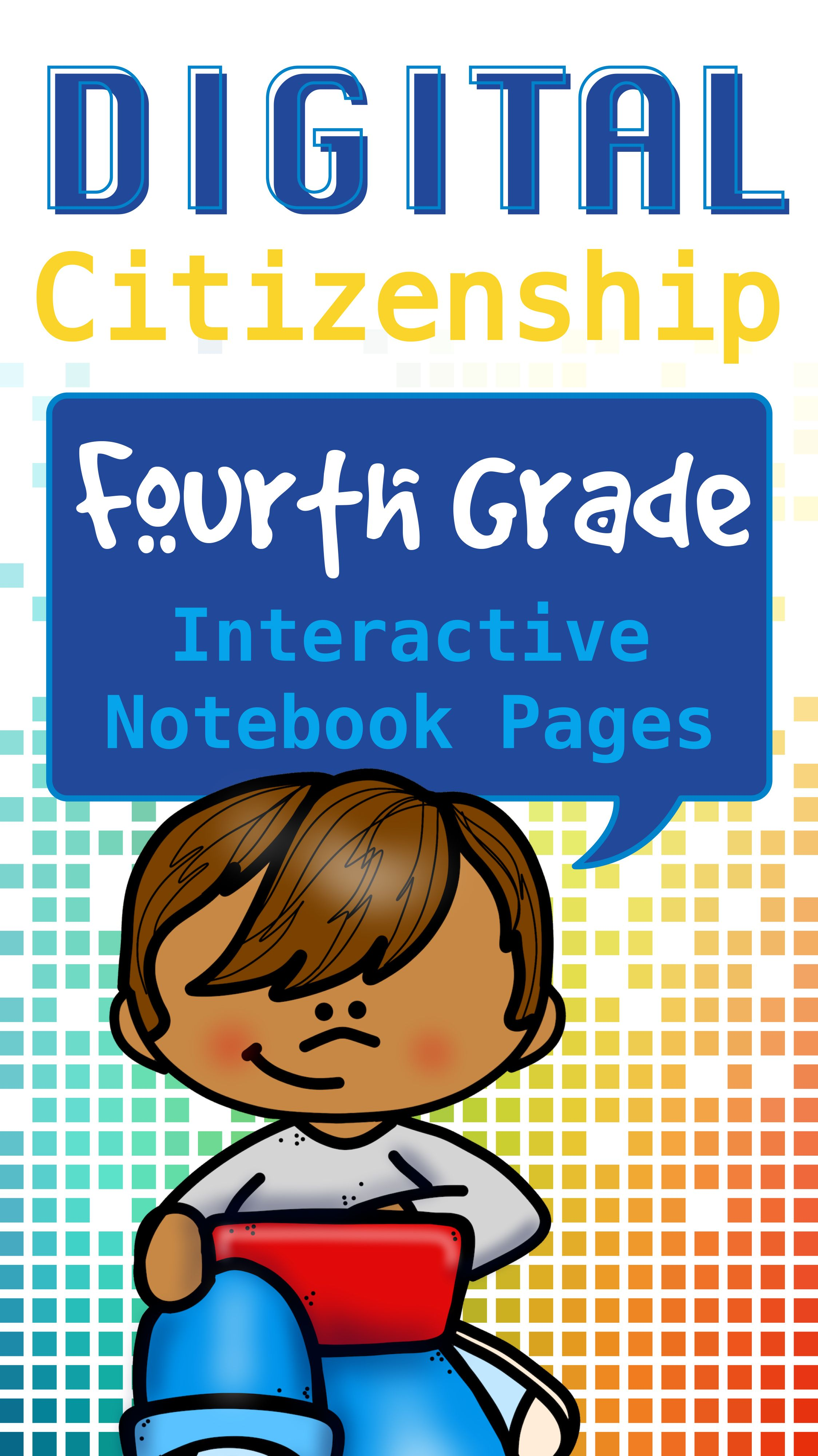 safety interactive notebook pages for 4th grade