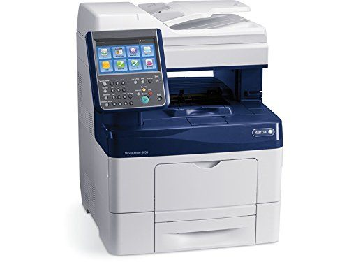 Xerox Workcentre 6655 X Color Printer With Scanner Copier And Fax