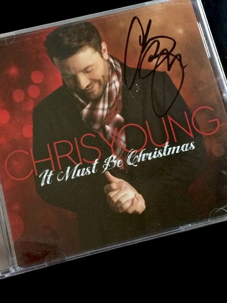 Chris Young Christmas.Chris Young It Must Be Christmas Cd Country With Alan