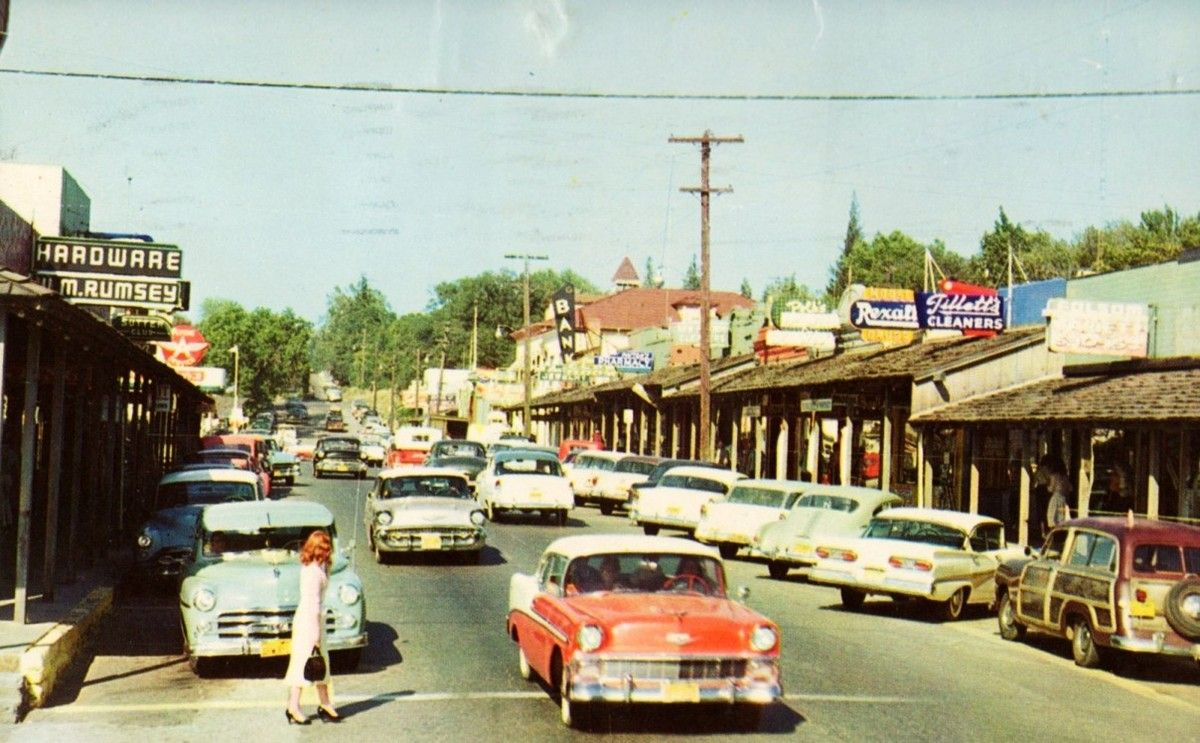 Folsom, California, 1950s  I  lived here for six years then came back to colorado