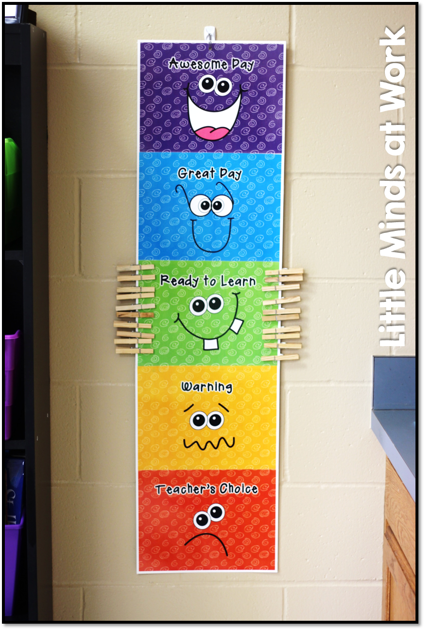 Classroom Decor Charts : Classroom tour giveaway too kindergarten