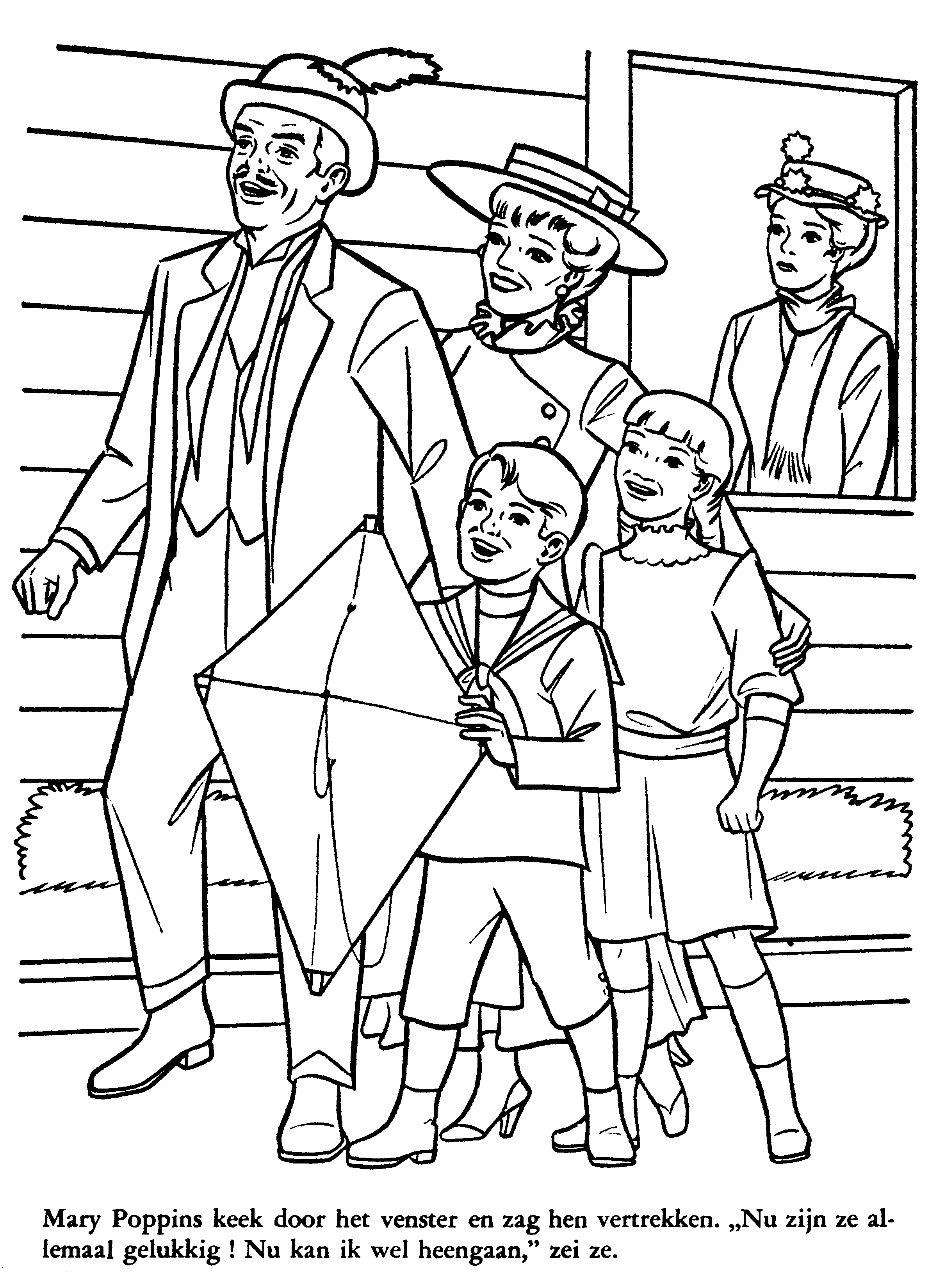 disney coloring pages mary poppins - photo#11