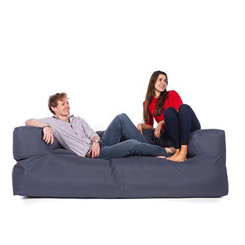 Peachy Great Bean Bags 3 Seat Couch Indoor Outdoor Navy Blue Inzonedesignstudio Interior Chair Design Inzonedesignstudiocom