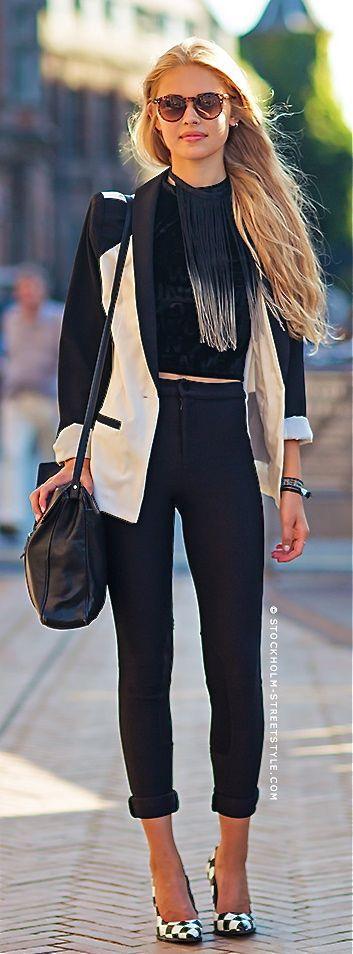 Fashionista: Gorgeous Style#Blazer and Trouser