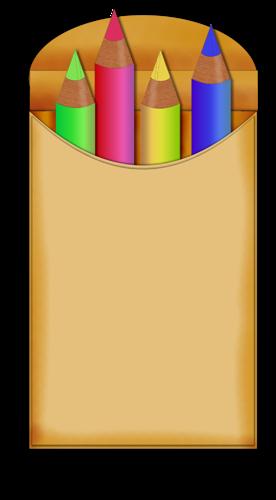 Crayons De Couleurs,articles D Ecole - School Year 2013 2014, HD Png  Download - kindpng