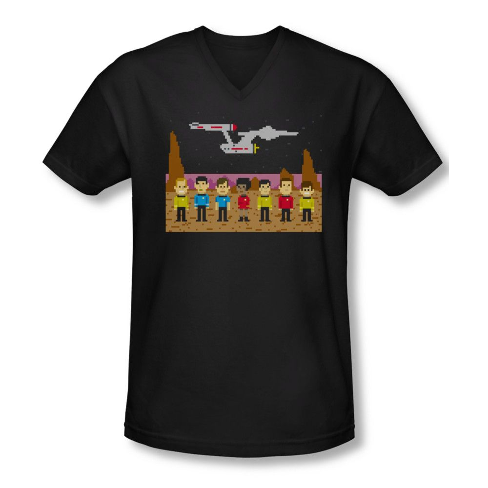 Star Trek Tos Trexel Crew Adult Work Shirt