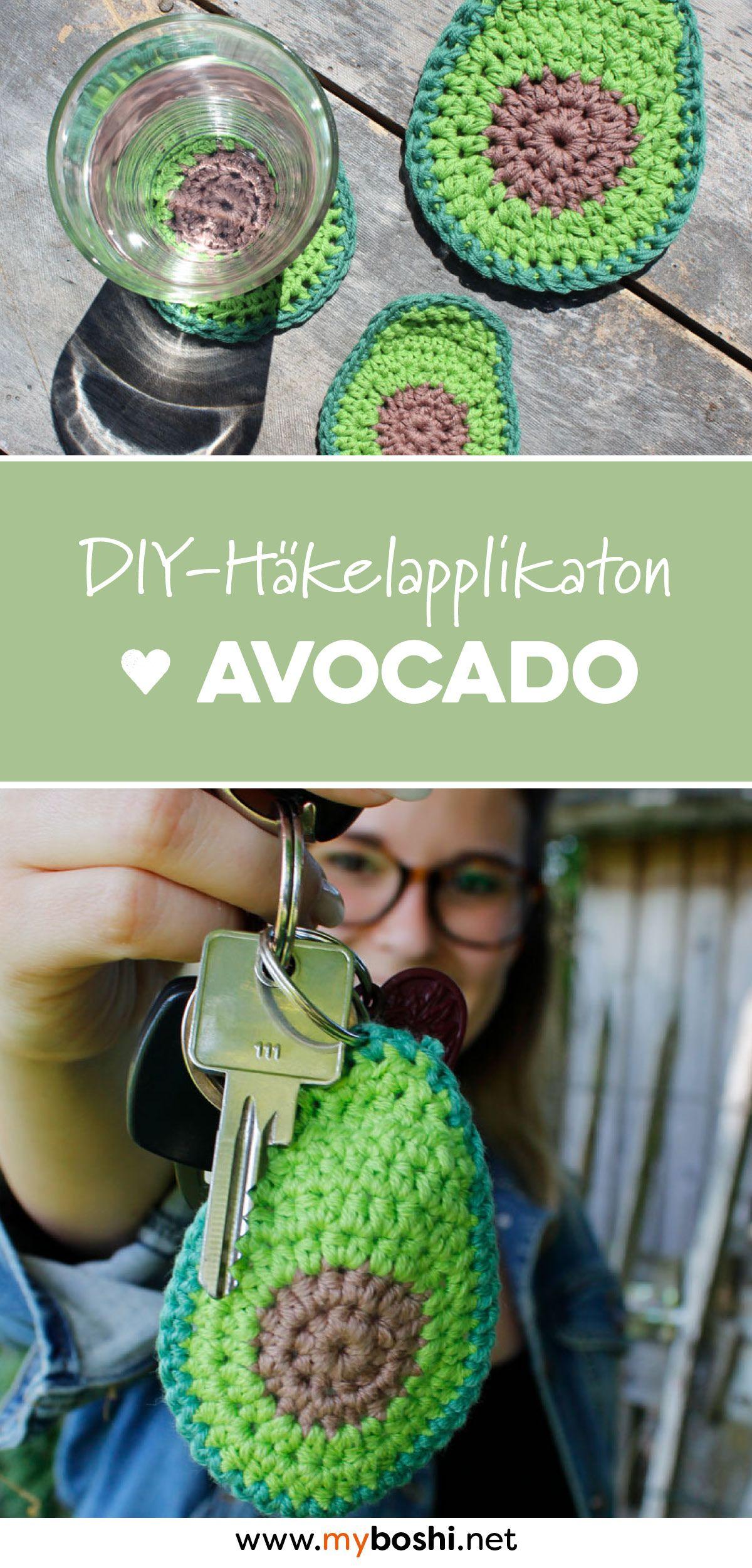 Avocado häkeln - kostenlose Häkelanleitung (echt einfach!) | Avocado ...