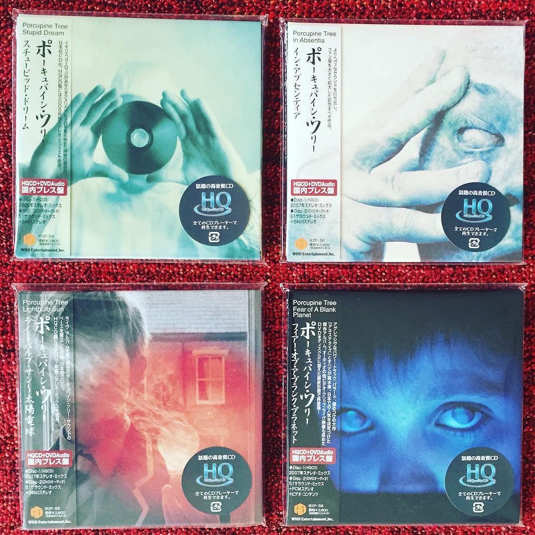 Porcupine Tree - Japan HQCD DVD Audio  A non-vinyl interim