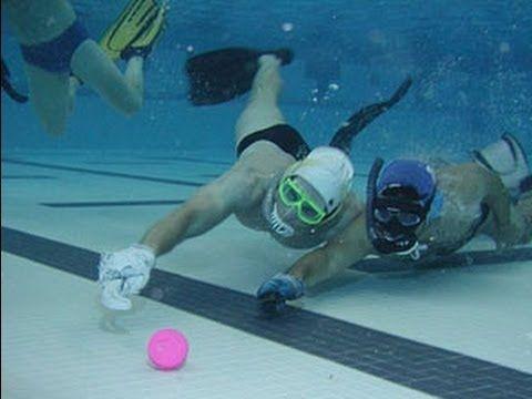See Underwaterhockeying In Action Competing Summerofdoing Underwater Hockey Fun Sports