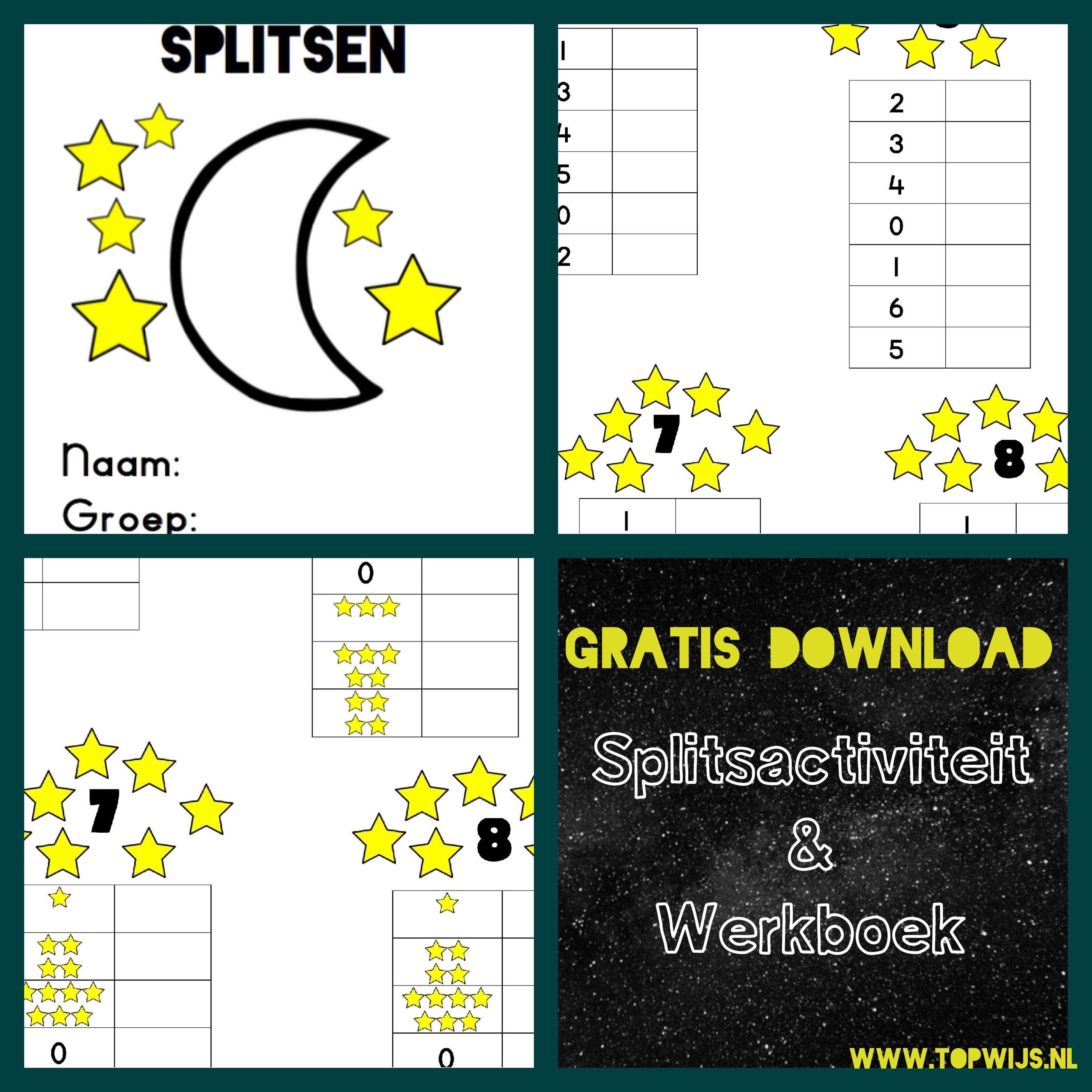 Split worksheet Split workbook Split toddlers Split