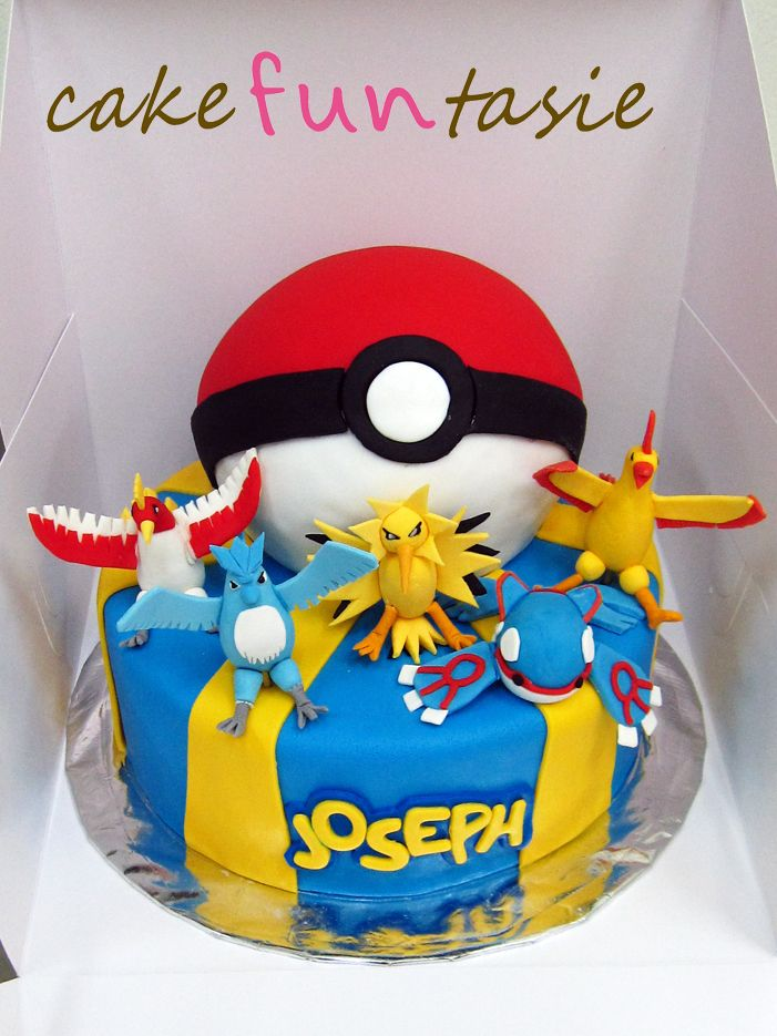 Legendary Pokemon Cake  Funtasie