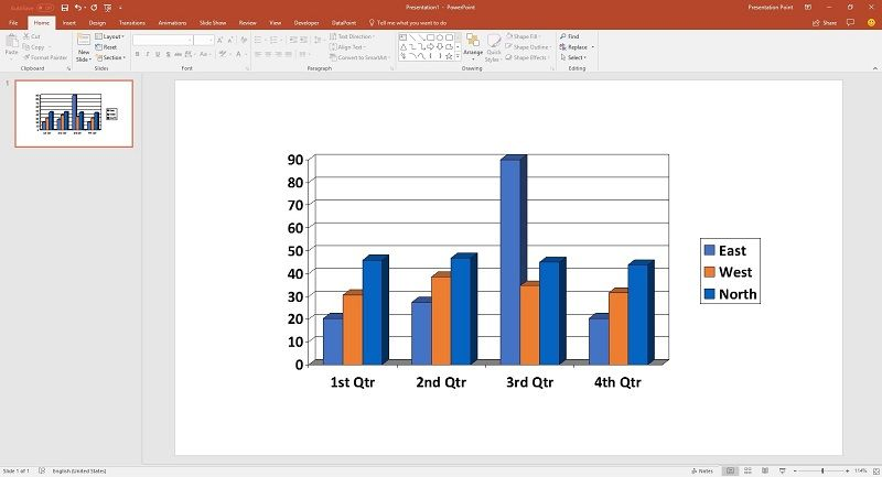 use dynamic charts and graphs at your powerpoint presentations