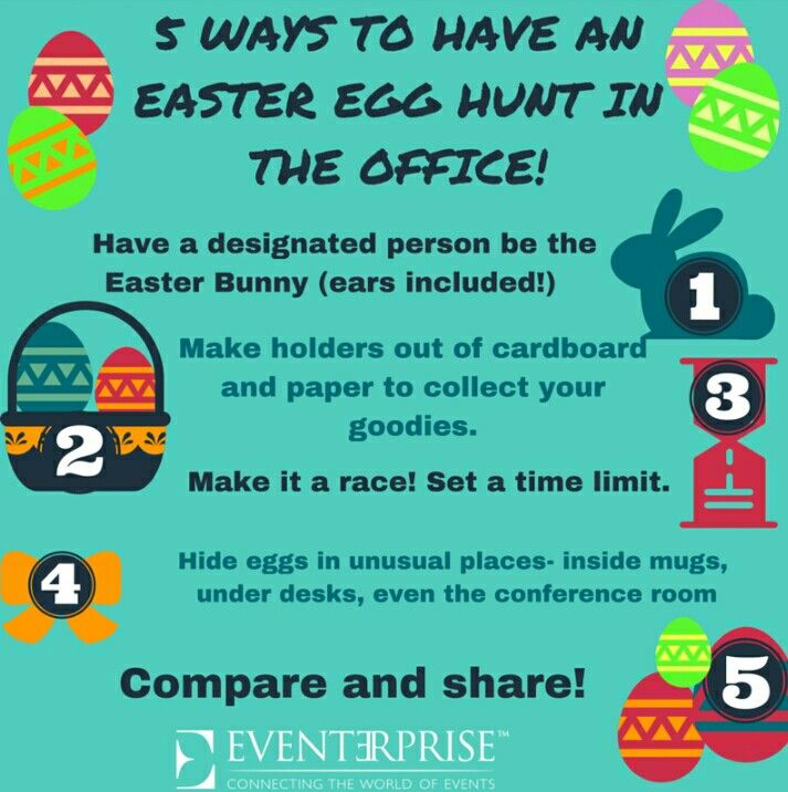 office easter fun ideas for an easter egg hunt in the